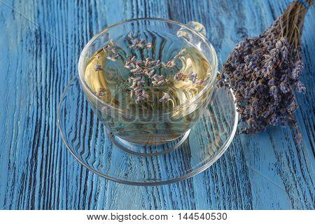 Herbal Tea With Lavender. Lavender Tea.