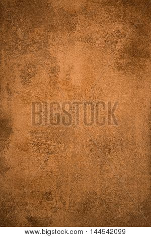 Old rusty grungy metal sheet textured background.