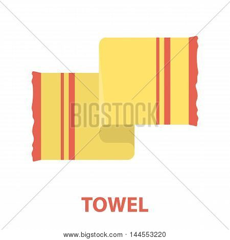 Towel icon of vector illustration for web and mobile design
