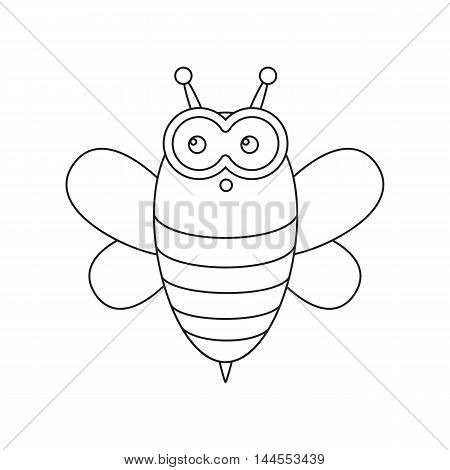 Bee line icon. Illustration for web and mobile.