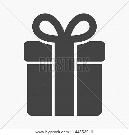 Gift icon of vector illustration for web and mobile design