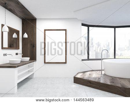 Large Bathroom Interior