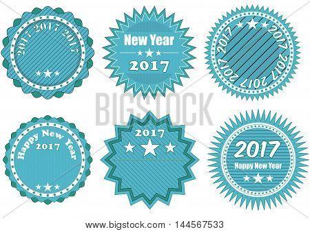 2017 Year Badge