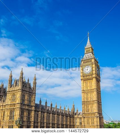 Houses Of Parliament In London Hdr