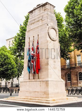 The Cenotaph, London Hdr