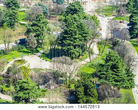 Milan Aerial View Hdr