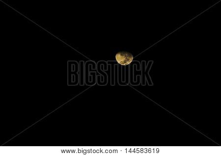 Color Of Moon At Eclipse