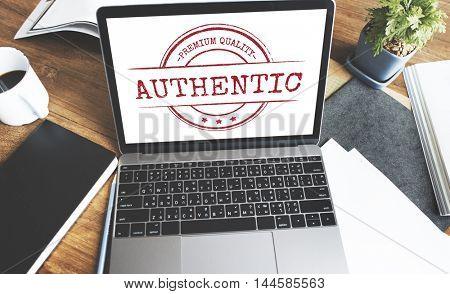 Exclusive Premium Quality Authentic Product Guaranteed Concept