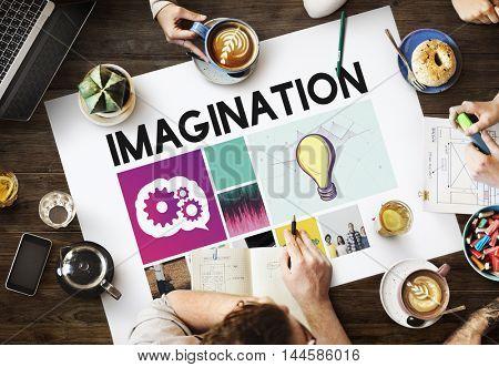 Brainstorm Ideas Teamwork Explore Concept