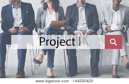 Project Management Planning Estimate Task Concept