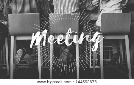 Meeting Meetup Organization Text Concept