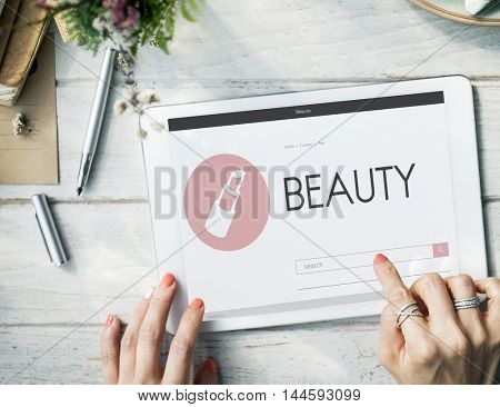 Stylish Beauty Women Elegant Enjoy Concept