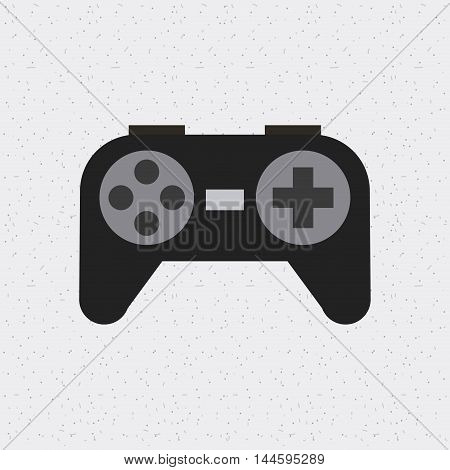 control video game isolated icon vector illustration design