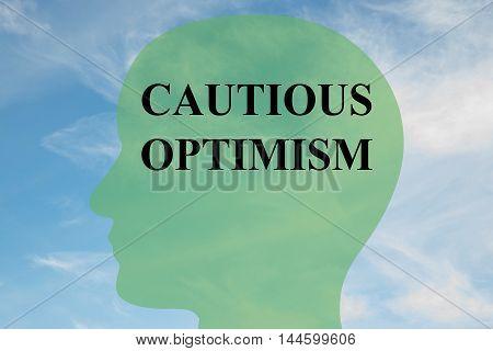 Cautious Optimism - Mental Concept
