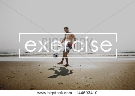 Exercise Fitness Health Life Activity Wellness Concept