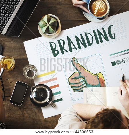 Branding Design Practice Success Creative Concept