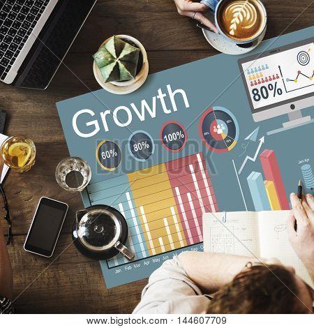 Growth Improvement Increase Development Concept