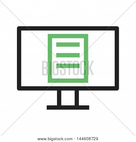 Online, certificate, education icon vector image. Can also be used for E Learning. Suitable for mobile apps, web apps and print media.