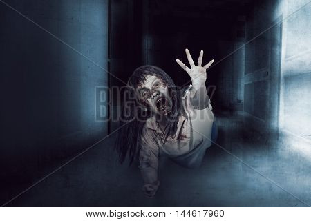 Asian Zombie Ugly Woman
