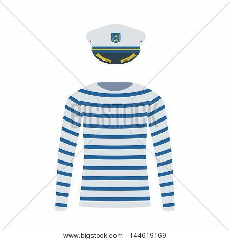 Sailor Shirt And Captain Cap