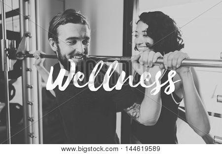 Wellness Healthy Life Physical Vitality Healthcare Concept