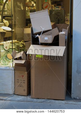 Box Packet Parcel