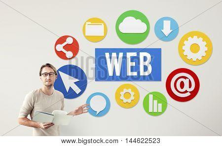 Web Internet Development Connection Concept