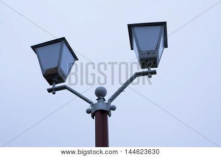 Old Street Light.