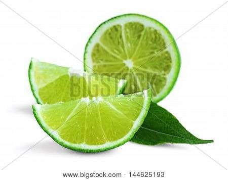 Fresh Lime Isolated