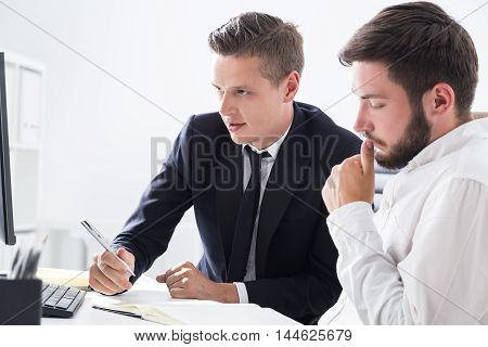 Brainstorming Colleagues