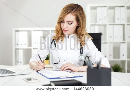 Writing Woman Doctor