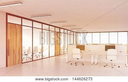 Conference Room And Cubicles