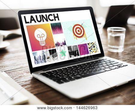 Start up Brand Marketing Vision Concept