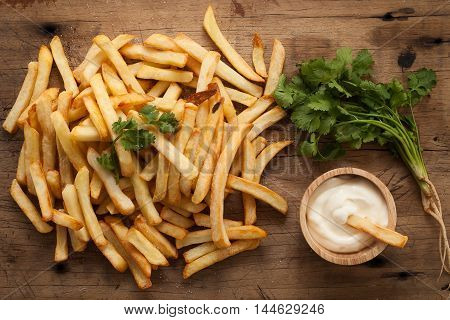Fries French Sour Cream Herb Still Life