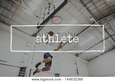Athlete Athletic Energy Exercise Healthy Lifestyle Concept