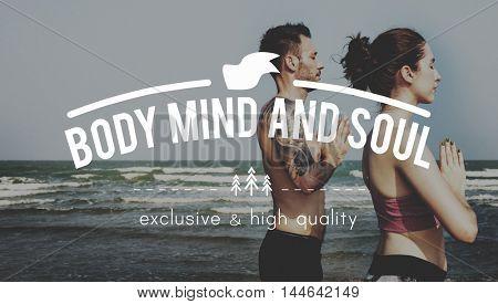 Body Mind Soul Attitude Choice Spiritual Positive Concept