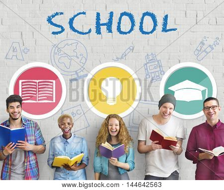 School Educational Knowledge University Learning Concept