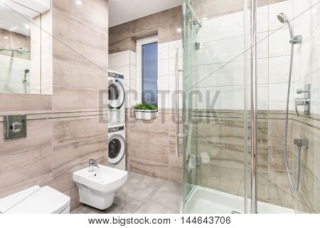 Laundry Room And Bathroom Combined