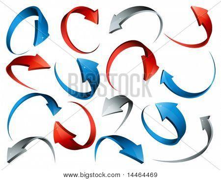 Flechas 3D