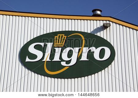 Letters Sligro On A Wall