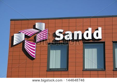 Letters Sandd On A Wall