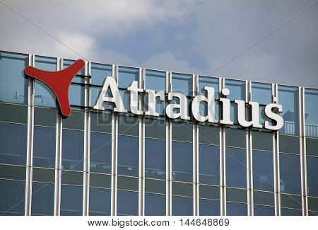 Letters On Atradius Office In Amsterdam