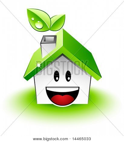 Happy green house