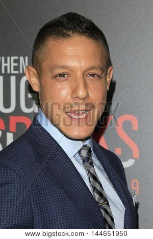 LOS ANGELES - AUG 28:  Theo Rossi at the