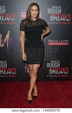 LOS ANGELES - AUG 28:  Jaina Lee Ortiz at the