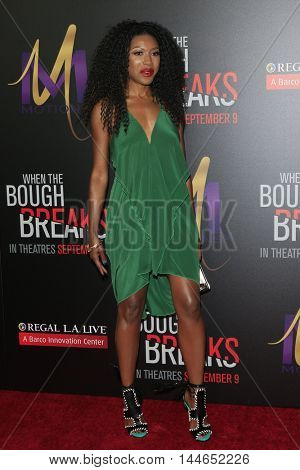 LOS ANGELES - AUG 28:  Gabrielle Dennis at the