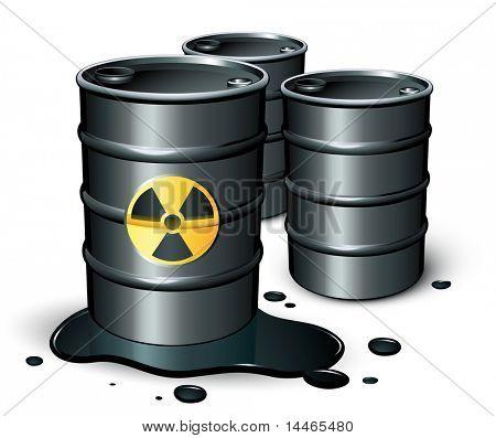 Petrol barrels