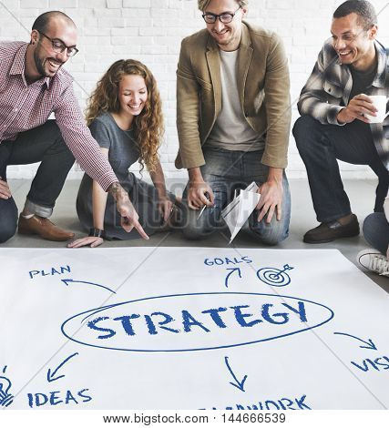 Business Growth Strategy Concept