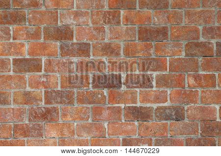 Old brick wall in decoration architecture for the design background.