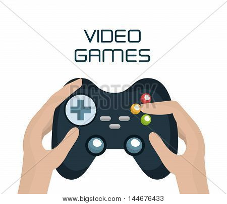 video game control isolated icon vector illustration design